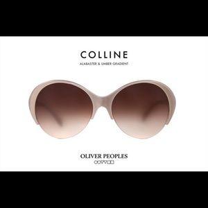 Oliver People's 'Collins' Sunglasses Brown Beige